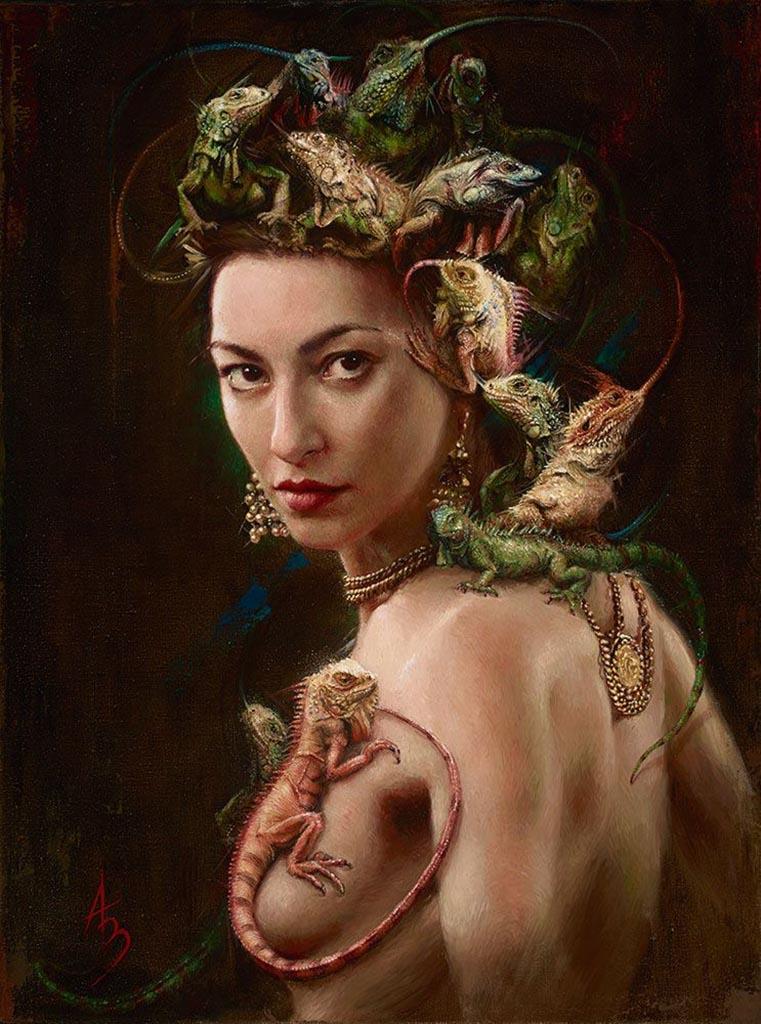 "Александра Манукян (Alexandra Manukyan) ""Amphibian Goddess"""