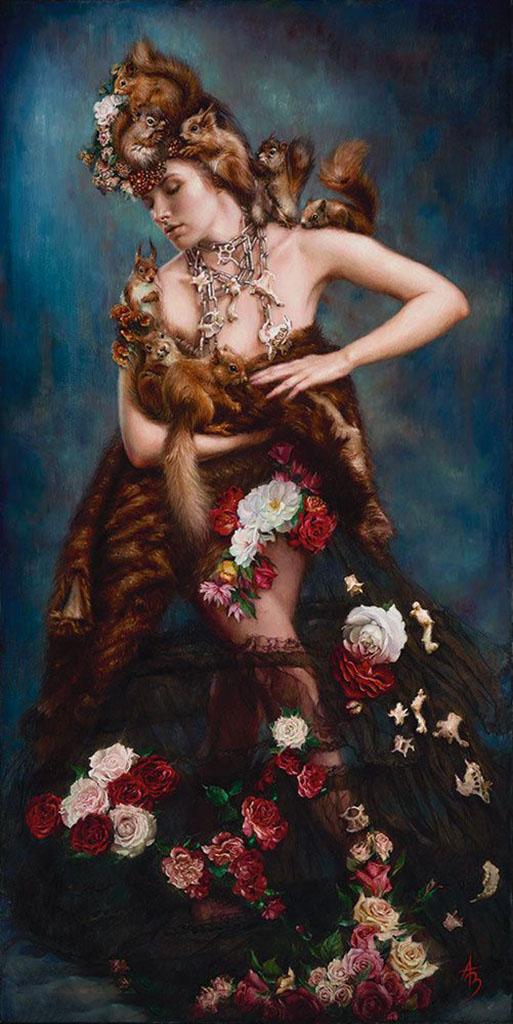 "Александра Манукян (Alexandra Manukyan) ""Vanity's Cruel Desire"""