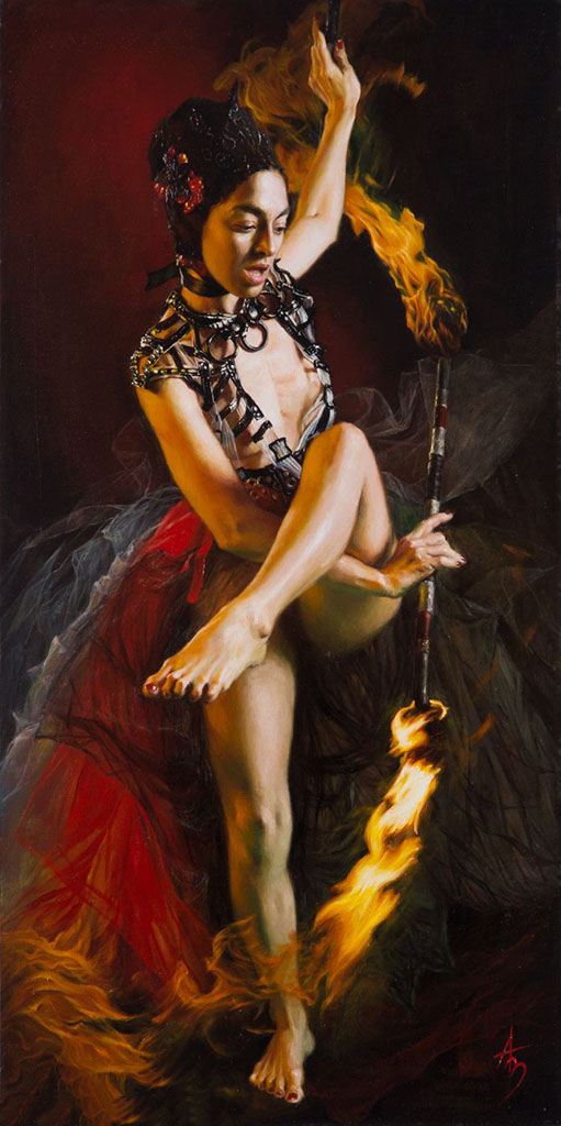 "Александра Манукян (Alexandra Manukyan) ""Playing with Fire"""