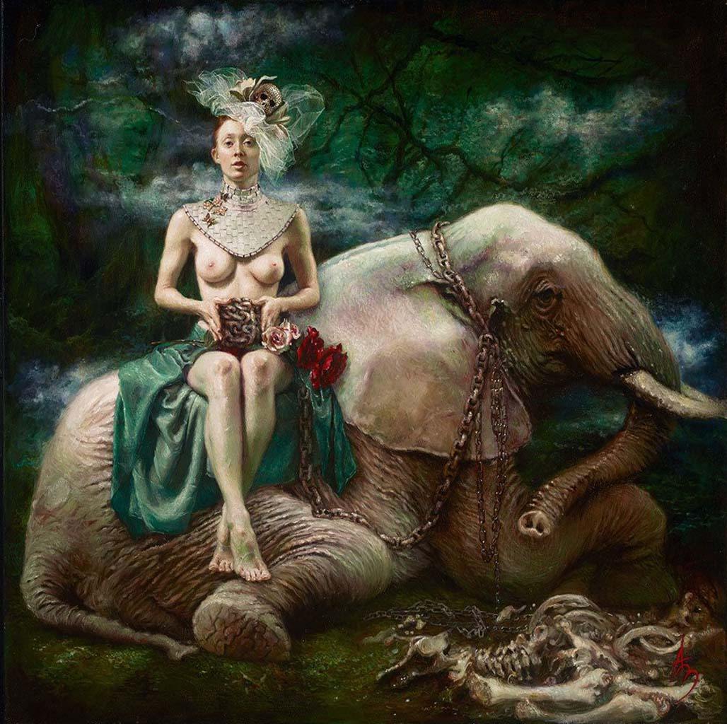 "Александра Манукян (Alexandra Manukyan) ""Elephant in the Room"""