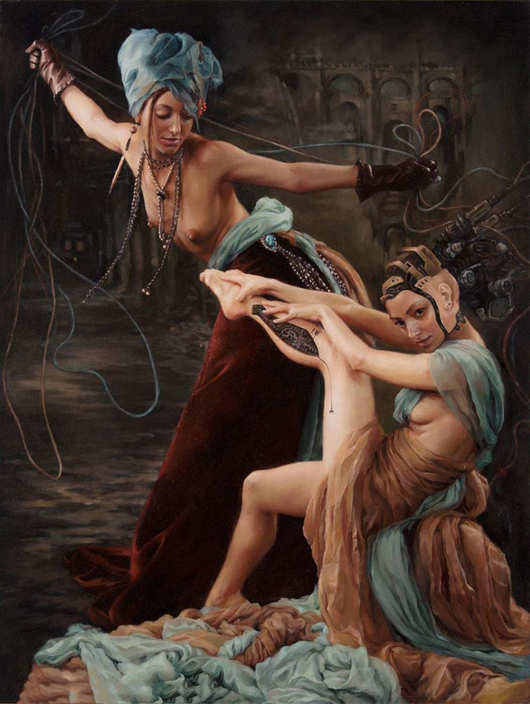 "Александра Манукян (Alexandra Manukyan) ""Mechanics of Manipulation"""