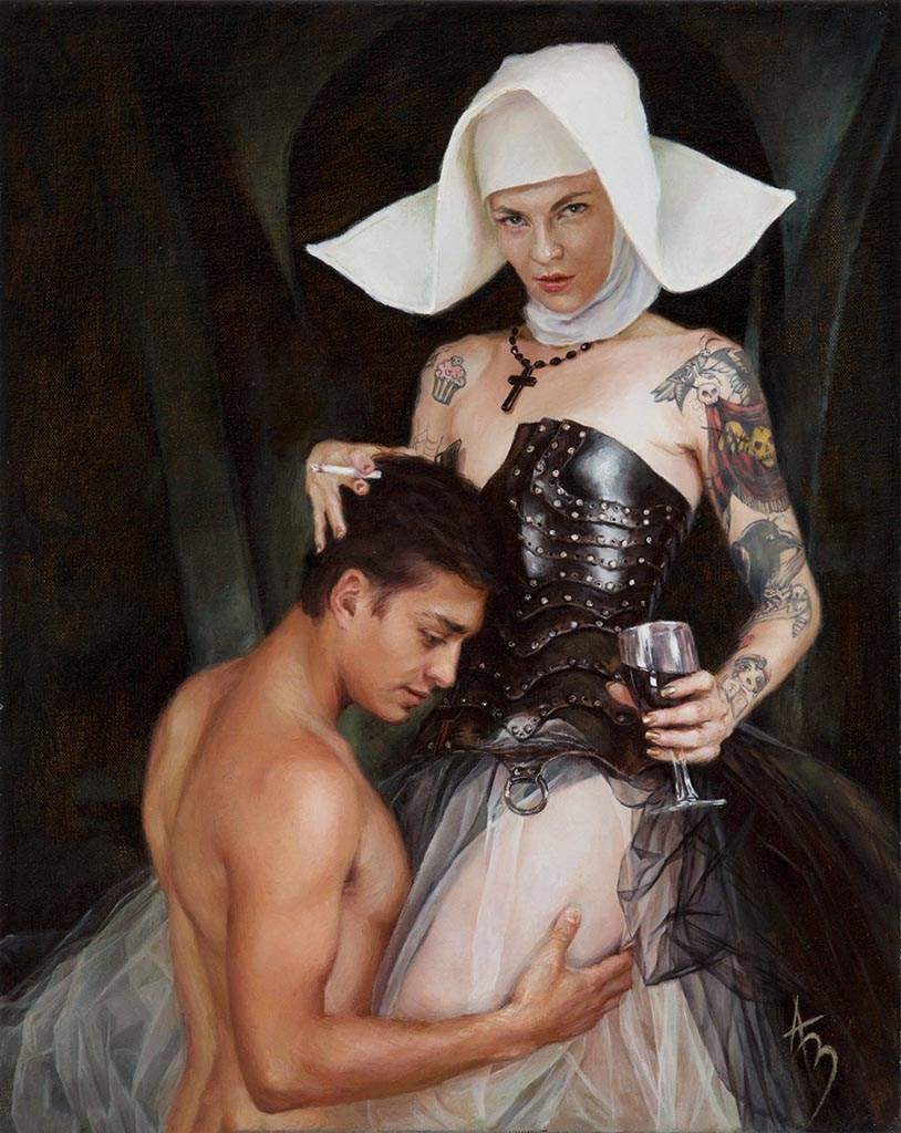 "Александра Манукян (Alexandra Manukyan) ""Secrets and Confession - 2"""