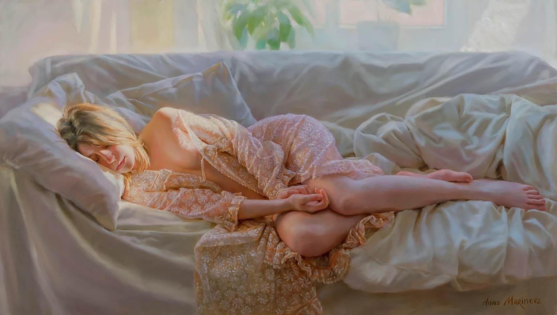"Анна Маринова (Anna Marinova) ""Свет из окна | Light from the window"""