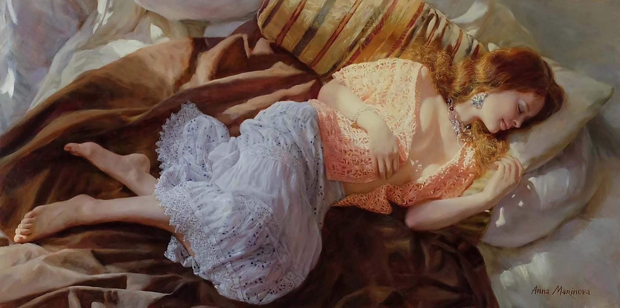 "Анна Маринова (Anna Marinova) ""Весенняя гармония   Spring harmony"""