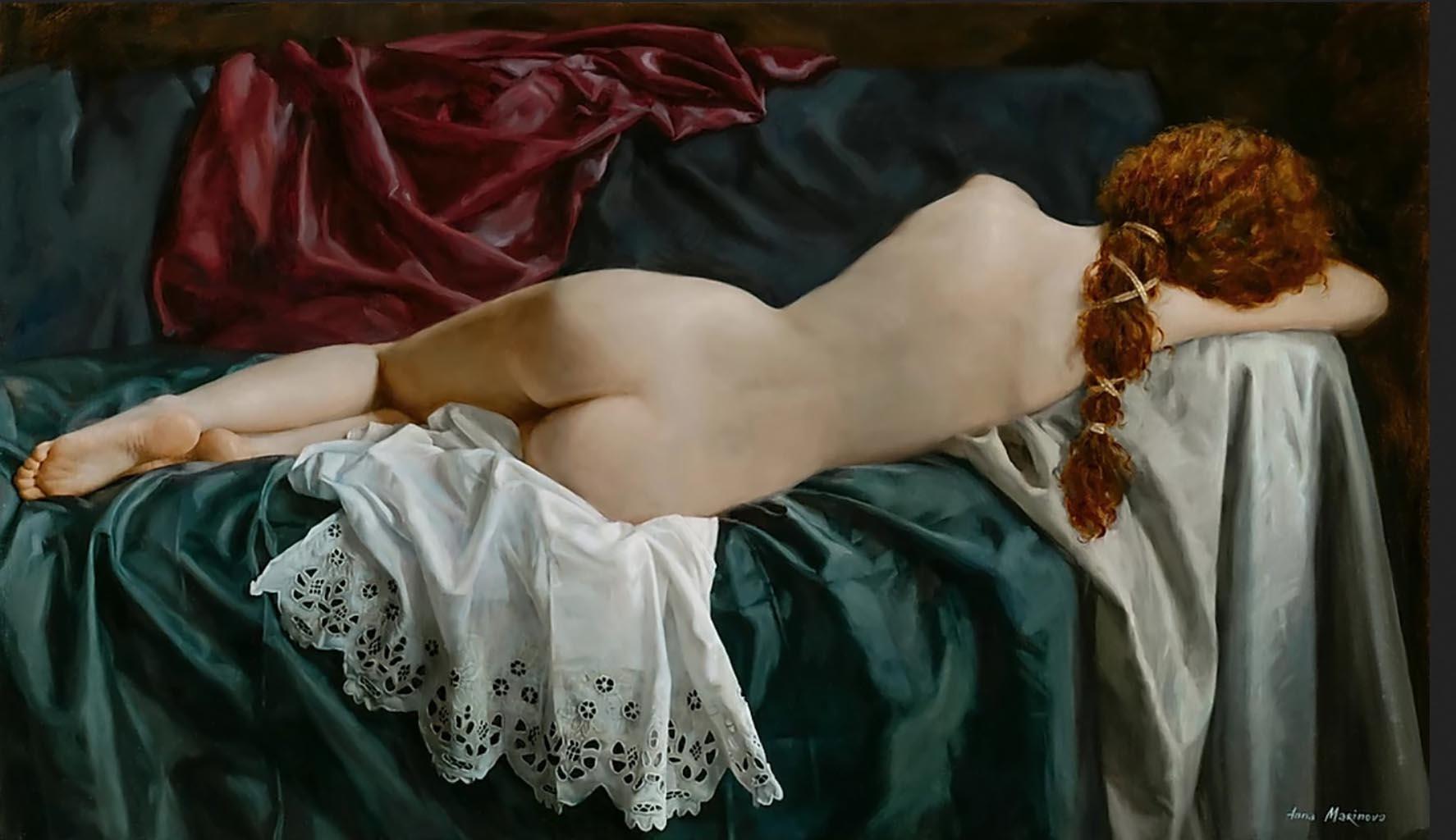 "Анна Маринова (Anna Marinova) ""Спящая Венера   Sleeping Venus"""
