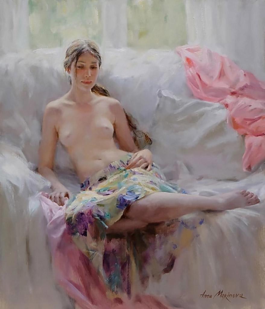 """Анна Маринова (Anna Marinova) """"Прекрасный день   A beautiful day"""""""