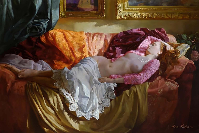 "Анна Маринова (Anna Marinova) ""Вечернее кружево   Evening lace"""