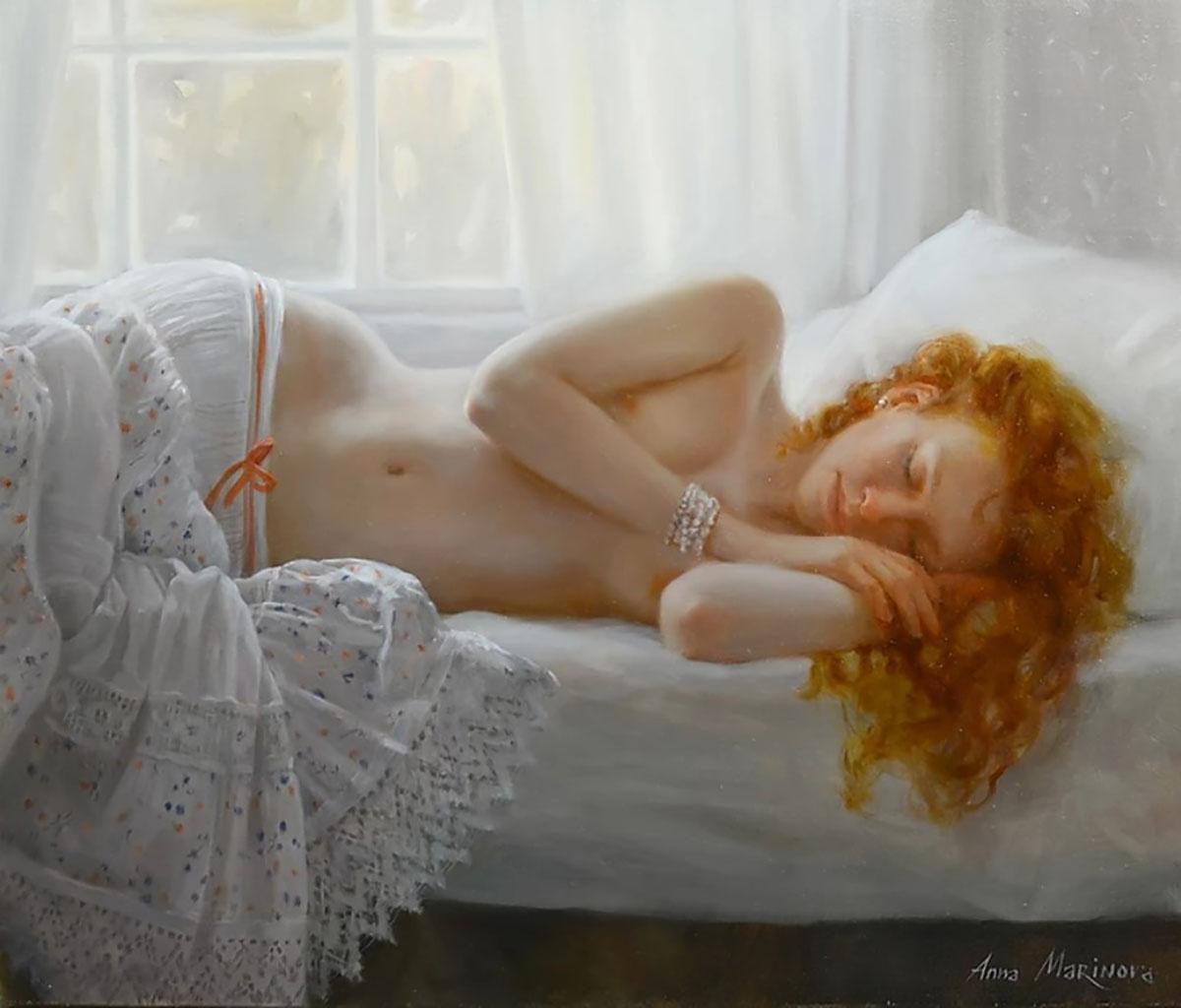 "Анна Маринова (Anna Marinova) ""Отдых   Rest"""