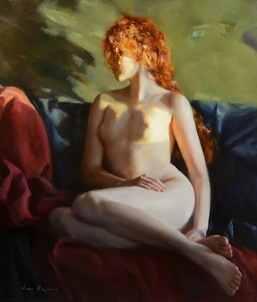 "Анна Маринова (Anna Marinova) ""Вечернее солнце   Evening sun"""