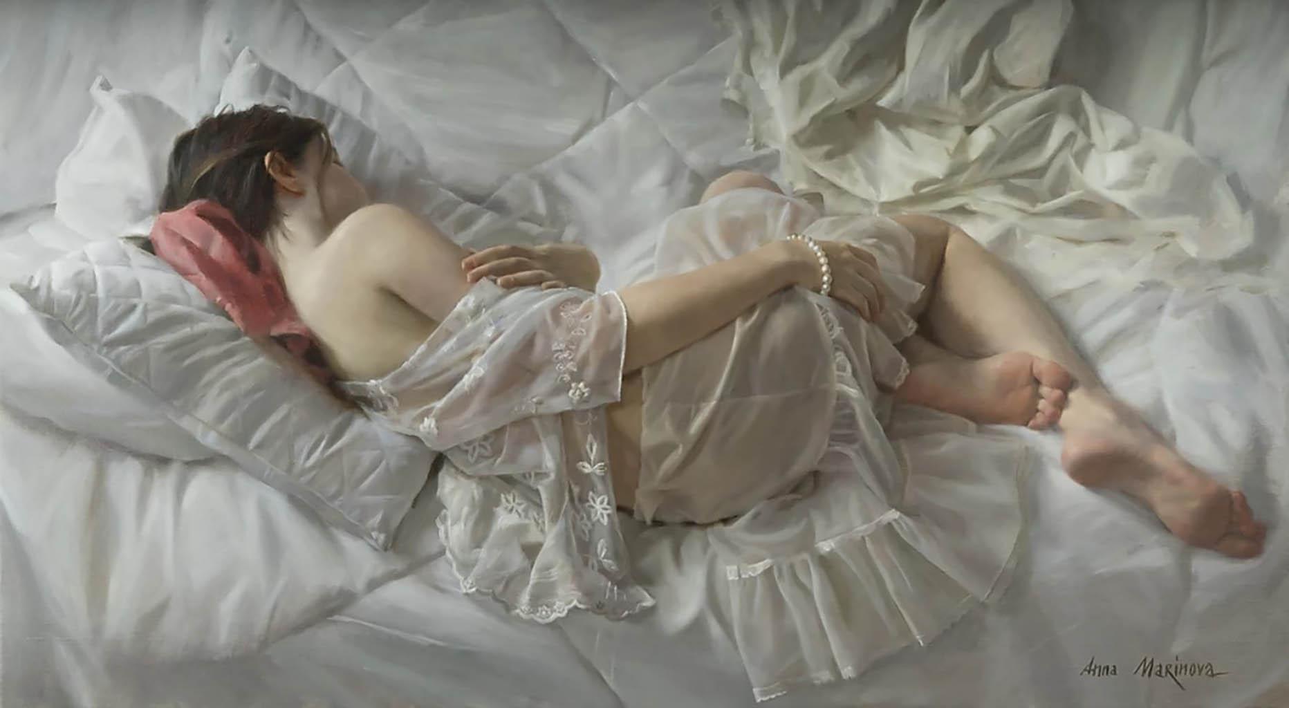"Анна Маринова (Anna Marinova) ""Зимнее утро | Winter morning"""