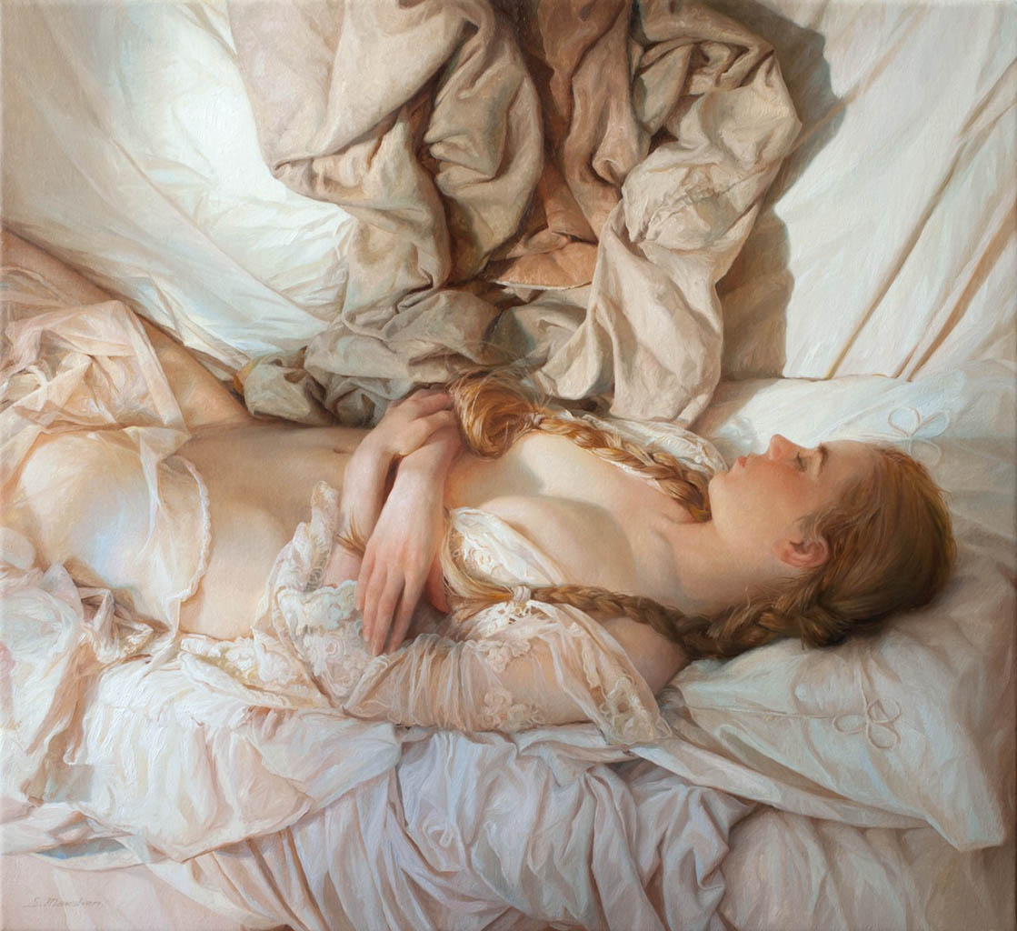 "Сергей Маршенников (Serge Marshennikov), ""Dream that found a girl"""