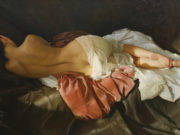 "Сергей Маршенников (Serge Marshennikov), ""The sun through a thin curtain"""