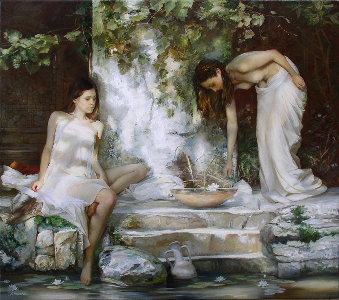 "Сергей Маршенников (Serge Marshennikov), ""The Coastal Lilies"""