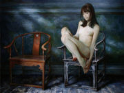 "Сергей Маршенников (Serge Marshennikov), ""On the black chair"""
