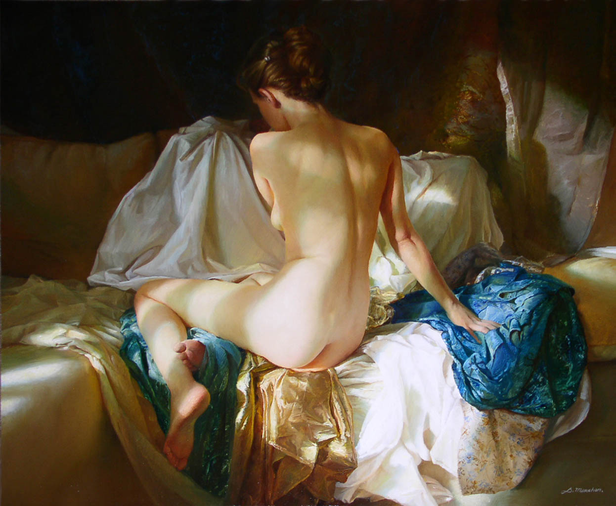 "Сергей Маршенников (Serge Marshennikov), ""Untitled Art - 46"""