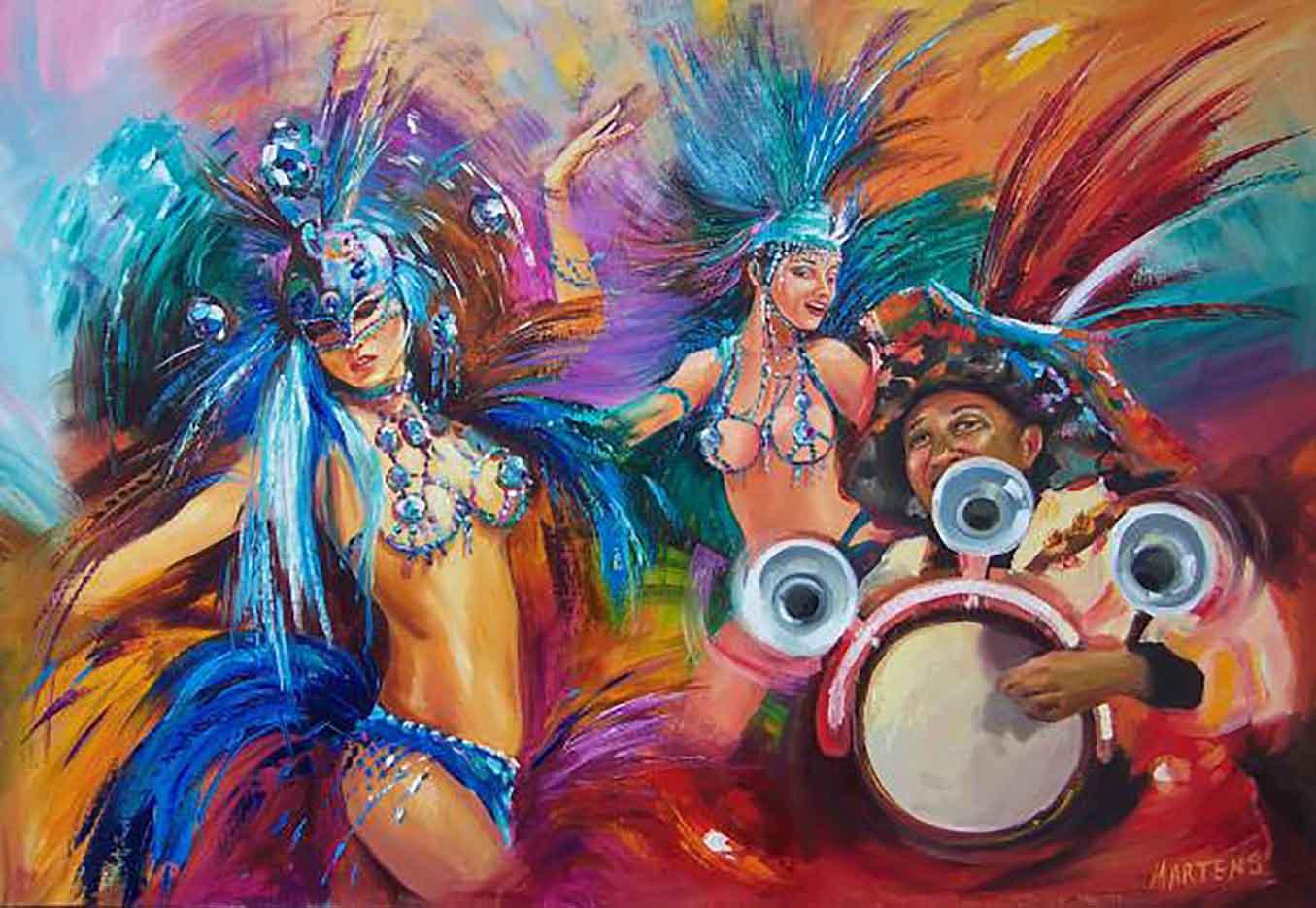 "Елена Мартенс (Elena Martens) ""Карнавал | Carnival"""