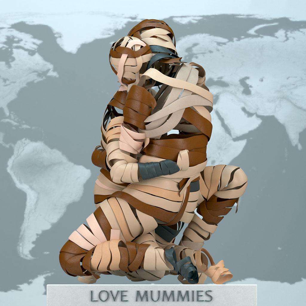 """Адам Мартинакис (Adam Martinakis) """"Love Mummies"""""""