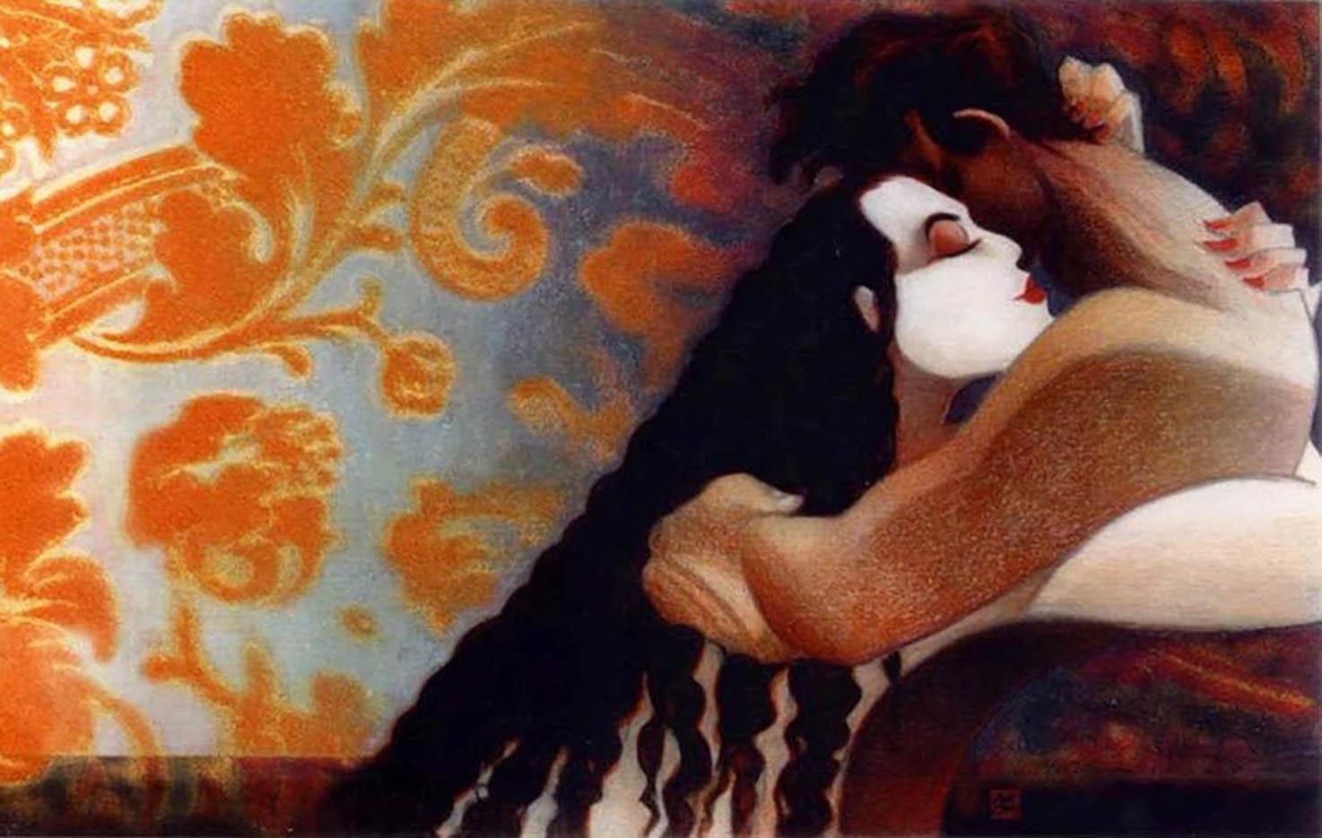 "Лоренцо Маттотти (Lorenzo Mattotti), ""Illustration - 9"""