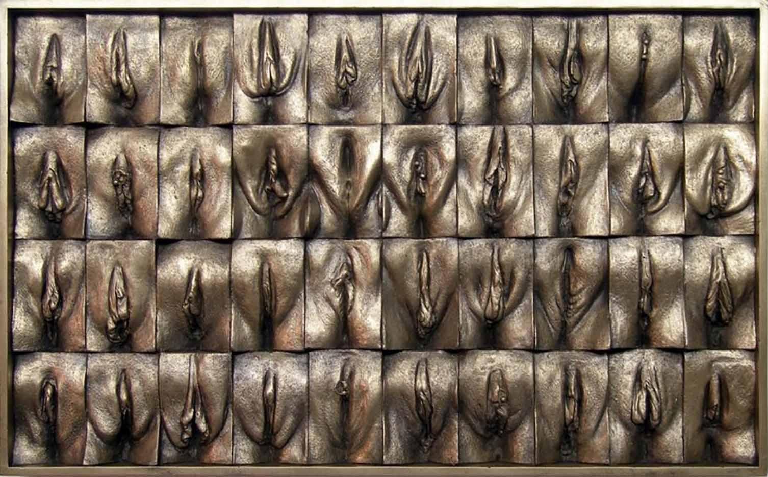 "Джейми Маккартни (Jamie McCartney) ""Great Wall of Vagina Mini Panel 5"""