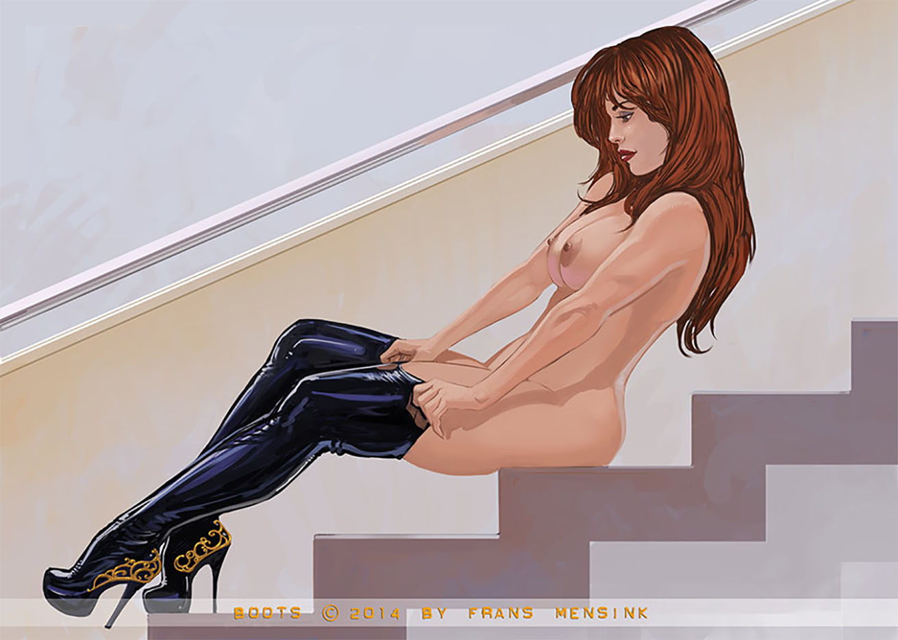"Франс Менсинк (Frans Mensink), ""Boots"""