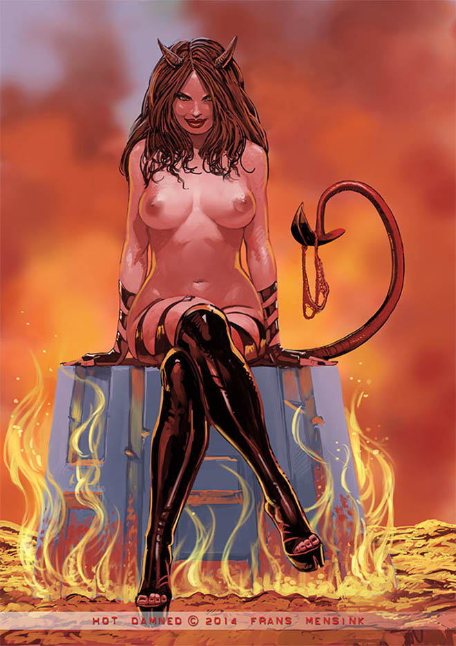 "Франс Менсинк (Frans Mensink), ""Hot Dammed """