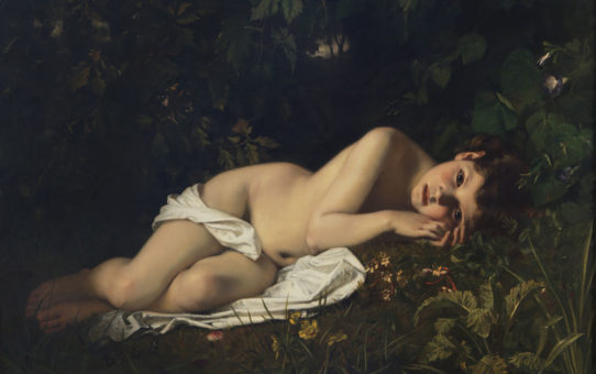 "Гуго Мерле (Hugues Merle) ""Afternoon Dreaming"""