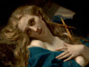 "Гуго Мерле (Hugues Merle) ""Mary Magdalene in the Cave """