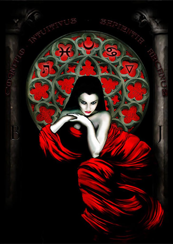 "Натаниэль Мильжур (Nathaniel Milljour) ""The High Priestess"""