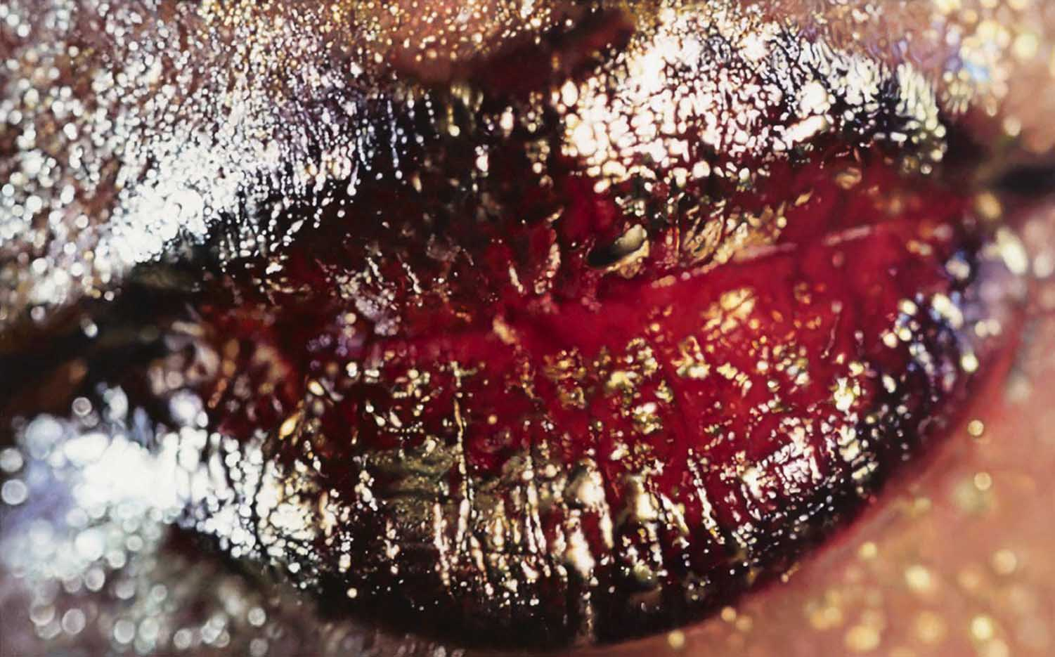 "Мэрилин Минтер (Marilyn Minter) ""Big Red (Wangechi Mutu)"""