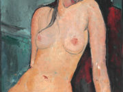 "Амедео Модильяни (Amedeo Modigliani), ""Seated Nude (2)"""