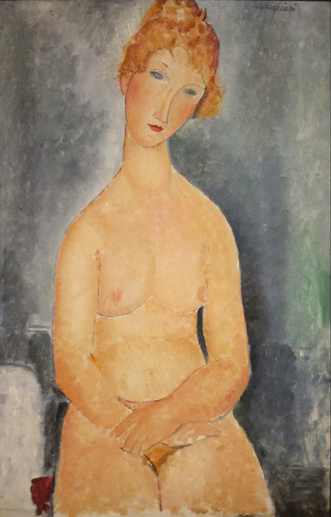 """Амедео Модильяни (Amedeo Modigliani), """"Seated Nude (3)"""""""