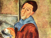 "Амедео Модильяни (Amedeo Modigliani), ""Автопортрет"""