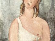 """Амедео Модильяни (Amedeo Modigliani), """"Girl in the Shirt"""""""