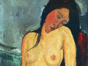 "Амедео Модильяни (Amedeo Modigliani), ""Обнаженная"""