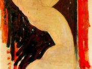 """Амедео Модильяни (Amedeo Modigliani), """"Кариатида"""""""