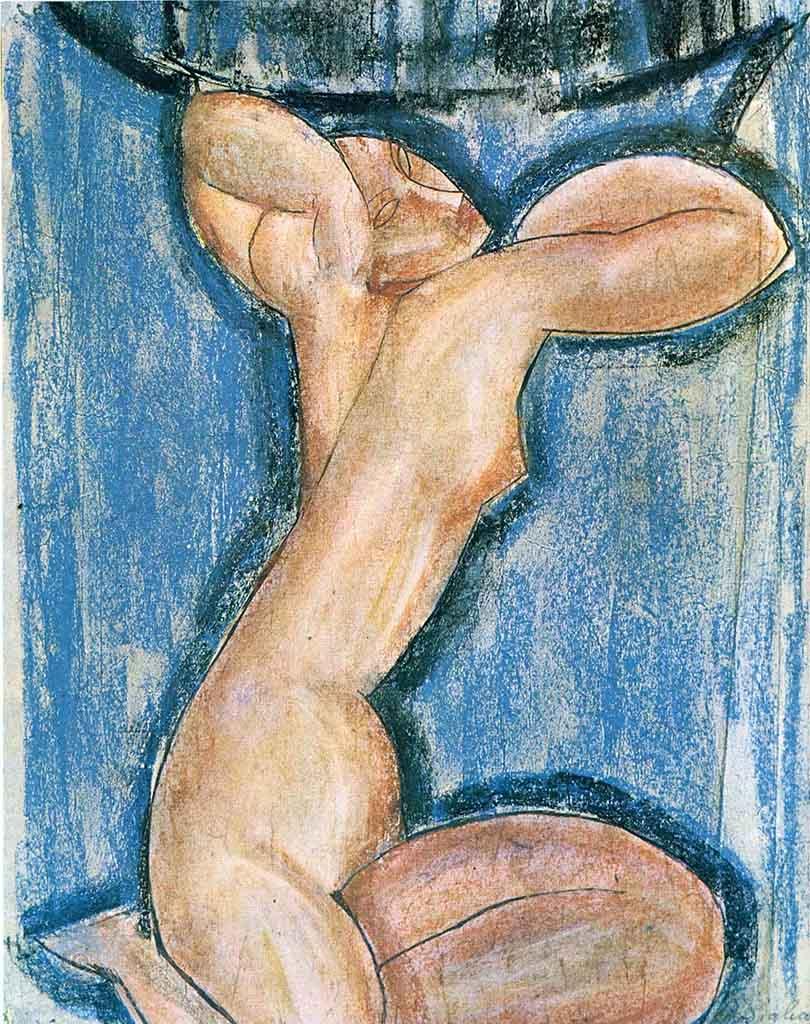 """Амедео Модильяни (Amedeo Modigliani), """"Кариатида (2)"""""""