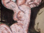 "Амедео Модильяни (Amedeo Modigliani), ""Обнаженная кариатида"""