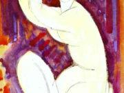 """Амедео Модильяни (Amedeo Modigliani), """"Кариатида (3)"""""""