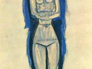 """Амедео Модильяни (Amedeo Modigliani), """"Кариатида (4)"""""""