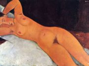 "Амедео Модильяни (Amedeo Modigliani), ""Nude"""