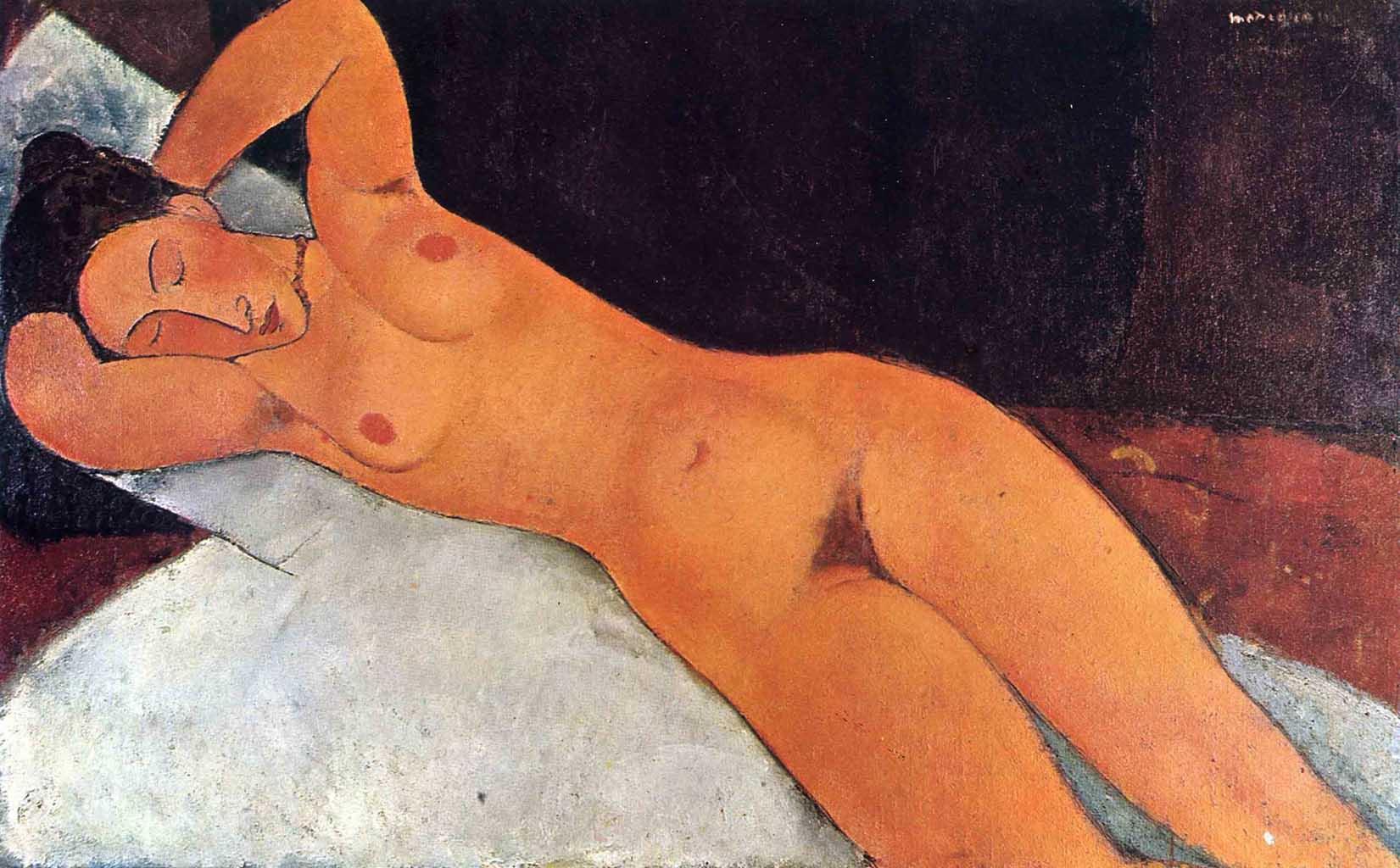 """Амедео Модильяни (Amedeo Modigliani), """"Nude"""""""