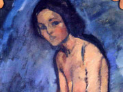 "Амедео Модильяни (Amedeo Modigliani), ""Seated Nude"""