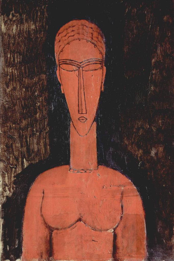 """Амедео Модильяни (Amedeo Modigliani), """"Rote Buste"""""""