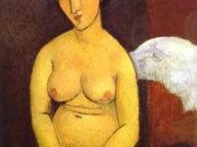 """Амедео Модильяни (Amedeo Modigliani), """"Картина без названия - 43"""""""