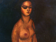 "Амедео Модильяни (Amedeo Modigliani), ""Seated Nude (4)"""