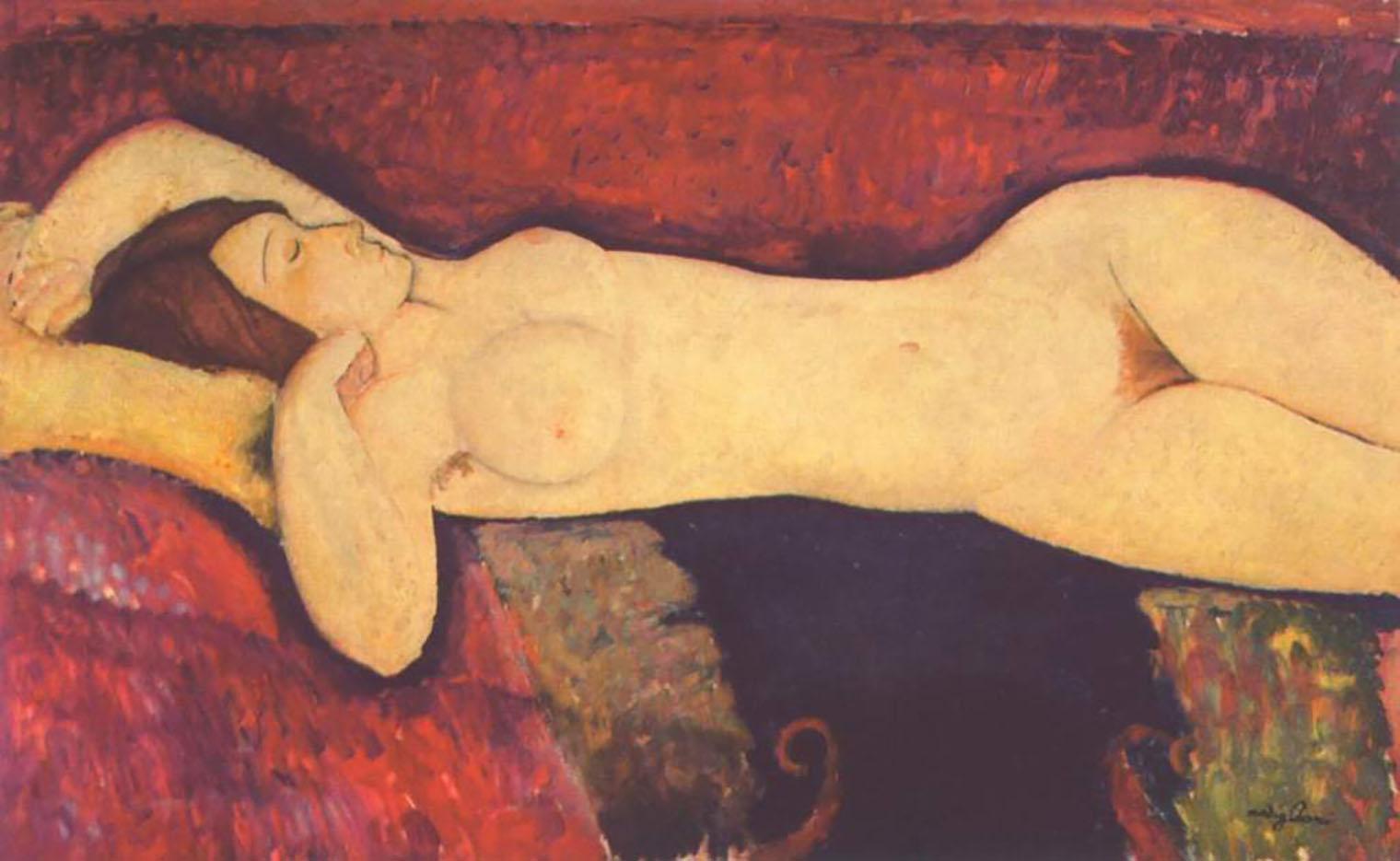 "Амедео Модильяни (Amedeo Modigliani), ""Le Grand Nu"""