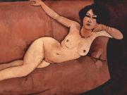 "Амедео Модильяни (Amedeo Modigliani), ""Akt auf Sofa (Almaiisa)"""