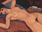 "Амедео Модильяни (Amedeo Modigliani), ""Liegender Akt"""