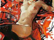 "Евгений Монахов (Evgeniy Monahov) ""Обнаженная в черных чулках | Nude in black stockings"""
