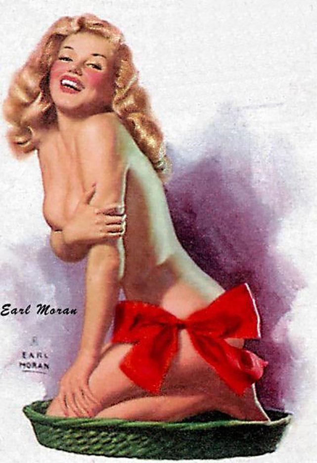 """Эрл Моран (Earl Moran), """"What Are Little Girls Made Of?"""""""